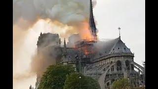 Paris : un incendie majeur est en cours à Notre-Dame