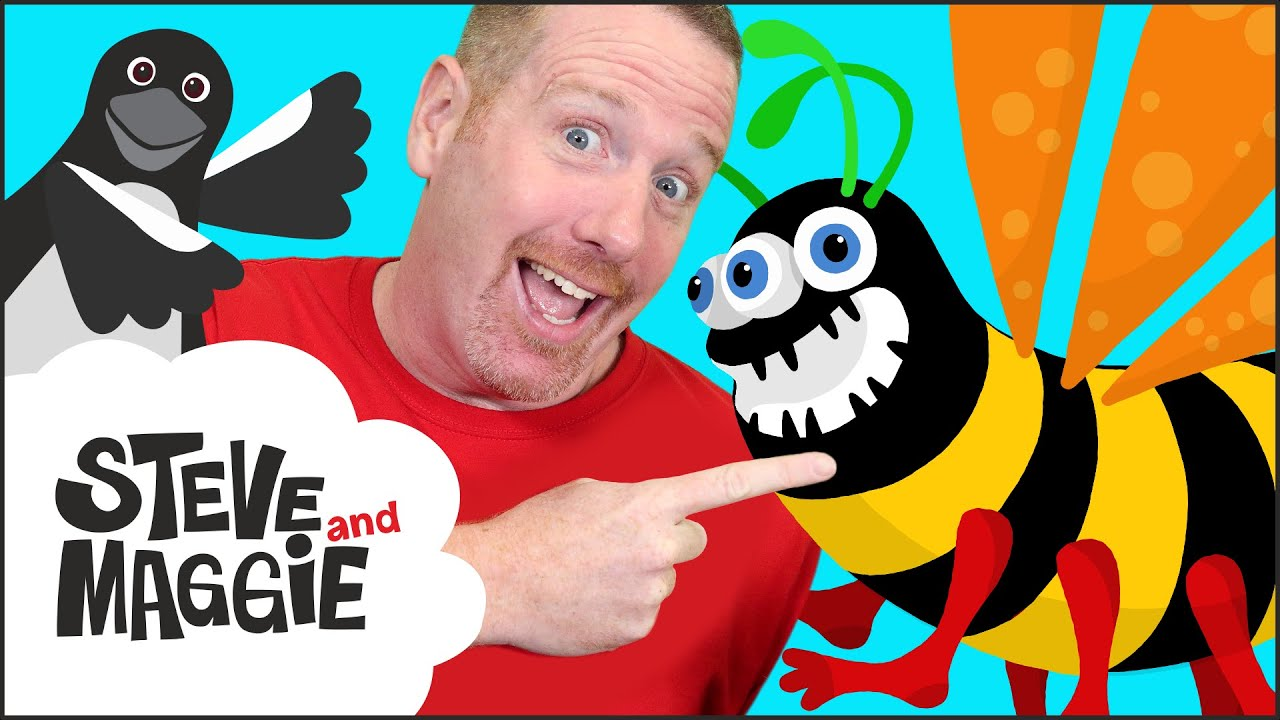 Play a Trick on Steve and Maggie | Scary Fun with Monster Bugs for Kids | Wow English TV