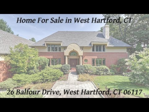 Home for Sale at 26 Balfour Drive, West Hartford, CT 06117
