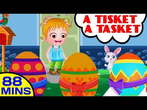 A Tisket A Tasket Plus More Nursery Rhymes and Kids Songs | Baby Hazel Nursery Rhymes