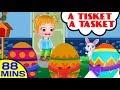 A Tisket A Tasket More Nursery Rhymes And Kids Songs Baby Hazel Nursery Rhymes mp3