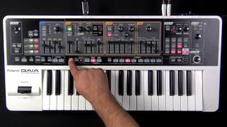 Roland Gaia SH-01 - How to Create a BackUp to USB Memory