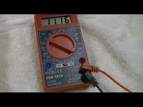 Harbor Freight - Cen-Tech 7 Function Digital Multimeter Review