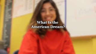 """VOX Investigates:  """"What Is The American Dream?"""""""