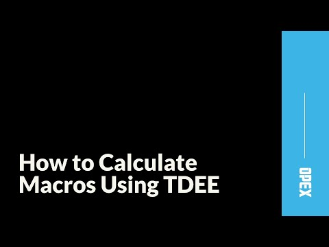 How to Calculate Macros Using Total Daily Energy Expenditure (TDEE)