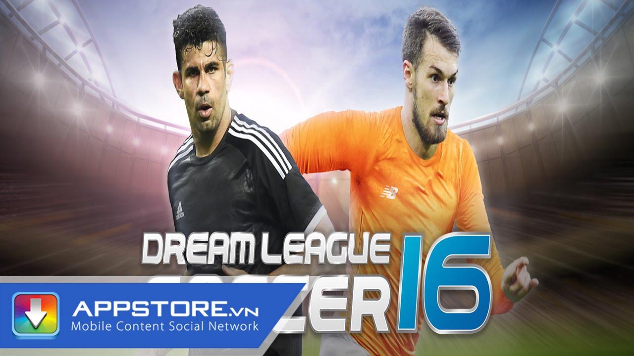 [iOS Game] Dream League - Giải bóng đá trong mơ -AppStoreVn