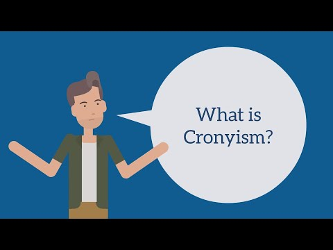 What Is Cronyism?