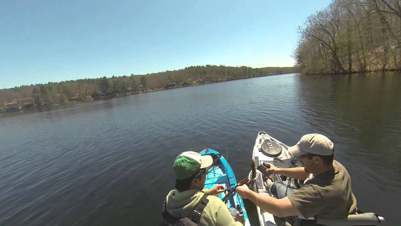 1st kayak fishing trip old town predator 13 ascend for Ascend fs12t fishing kayak
