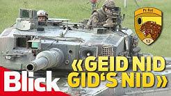 Pz Bat 12 | Ältestes Panzer-Bataillon der Schweizer Armee