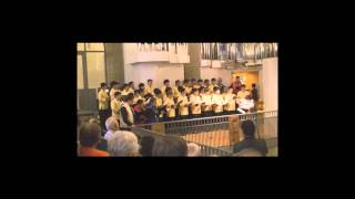 Taipei Male Choir - Benedictus, Agnus Dei from Messe No.5 in C (Charles Gounod)