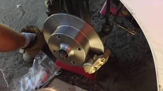 1969 VW Bug Project - Episode 20 - Drop Spindles and Disc Brakes