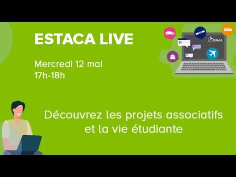ESTACA LIVE - Découvrir les projets associatifs et la vie étudiante - 2