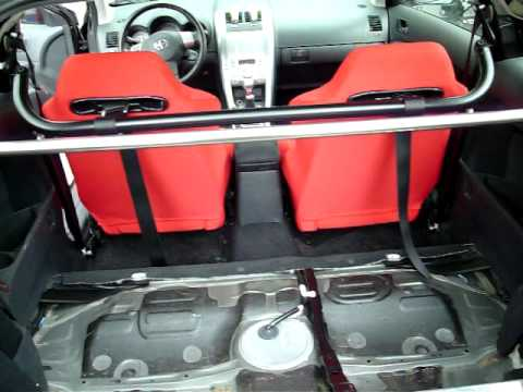 07 Scion Tc Red Recaro Seats Sparco Amp Harness Bar Amp Gutted