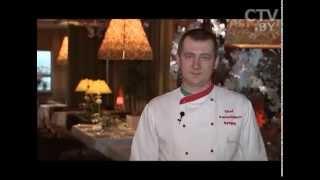 CTV.BY: Готовим крем-суп из мидий вместе с шеф-поваром Сергеем Фархутдиновым