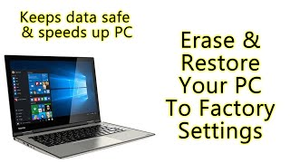 How to Erase and Factory Reset Your Windows 10 PC