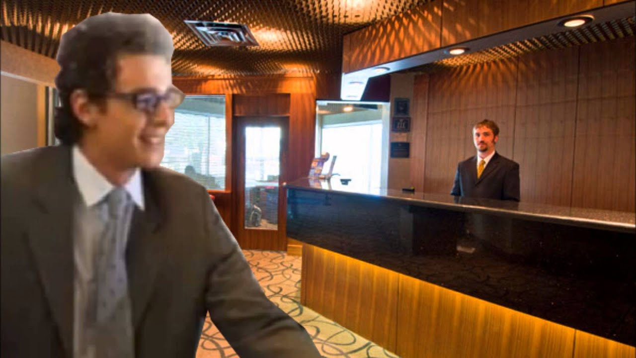 Bert The Desk Clerk Calls Best Western
