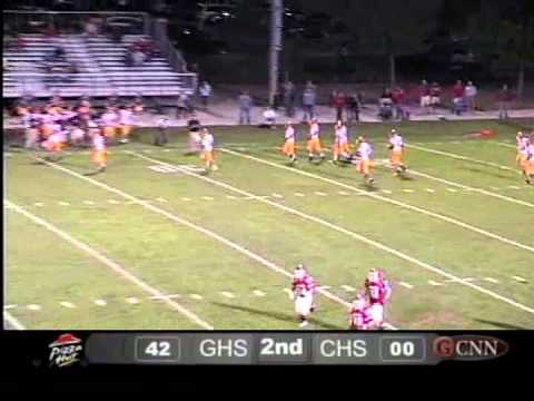 Live Sports Football Charleston @ Glenwood 09-17-13