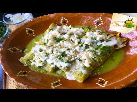 The Perfect Green Enchiladas Recipe