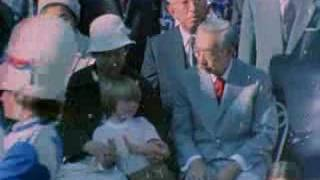 昭和天皇・皇后ご訪米、天皇・皇后 初の記者会見。昭和天皇はこの訪米・...