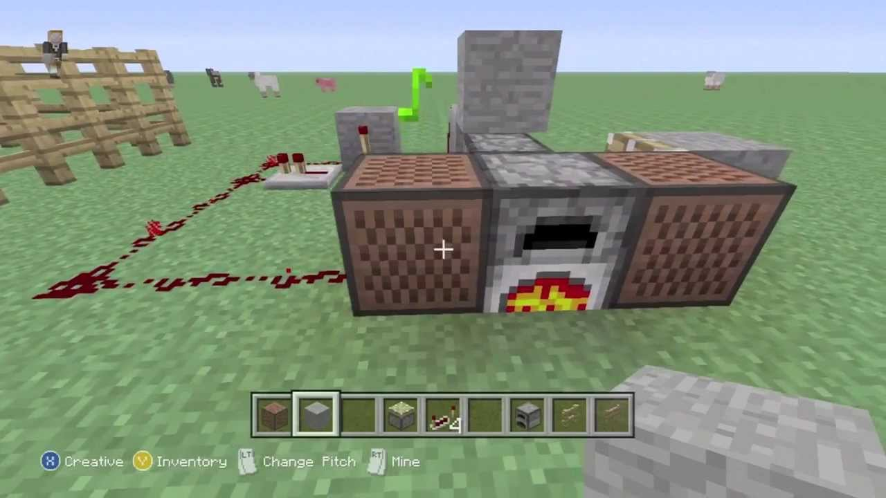 How to make a redstone house in minecraft xbox 360