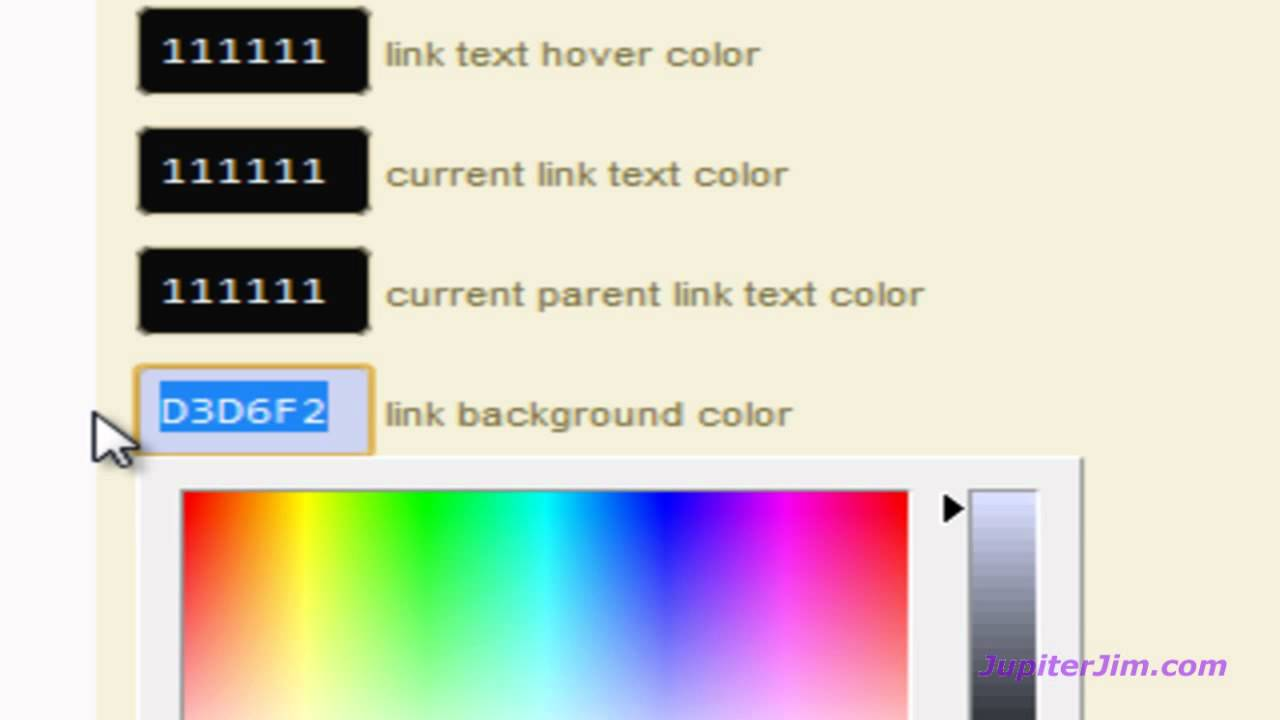 Thesis Tutorial Change Page and Blog Site Background Color using ...