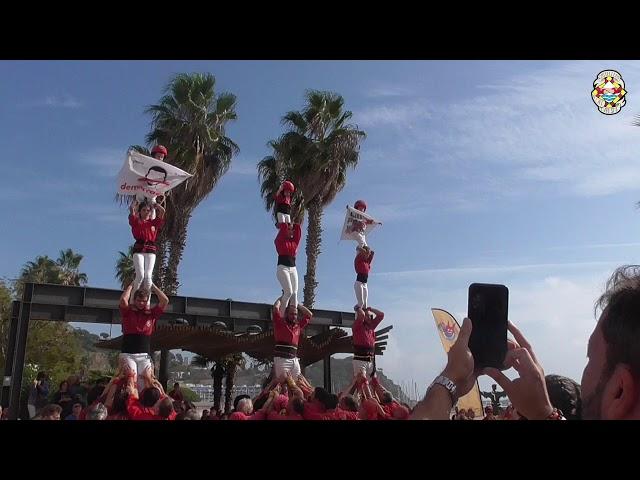2P4+P4xs Castellers Alt Maresme @ Blanes (20/19/2019)