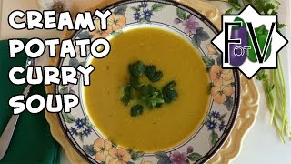 Creamy Potato Curry Soup