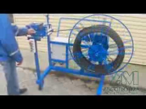 видео: Устройство намотки кабеля АМ.028П