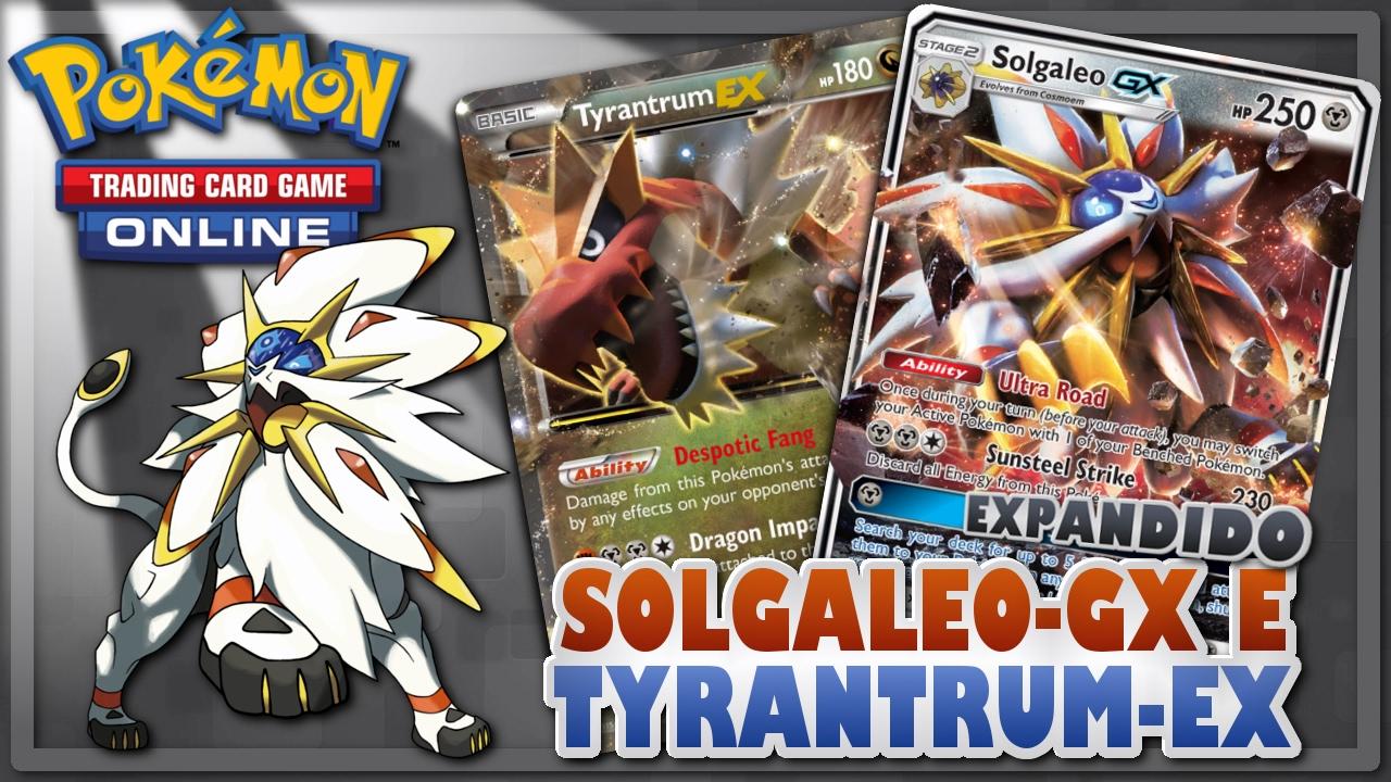 Pokemon Tcg Expanded Solgaleo Gx Tyrantrum Ex Bronzong Sumo