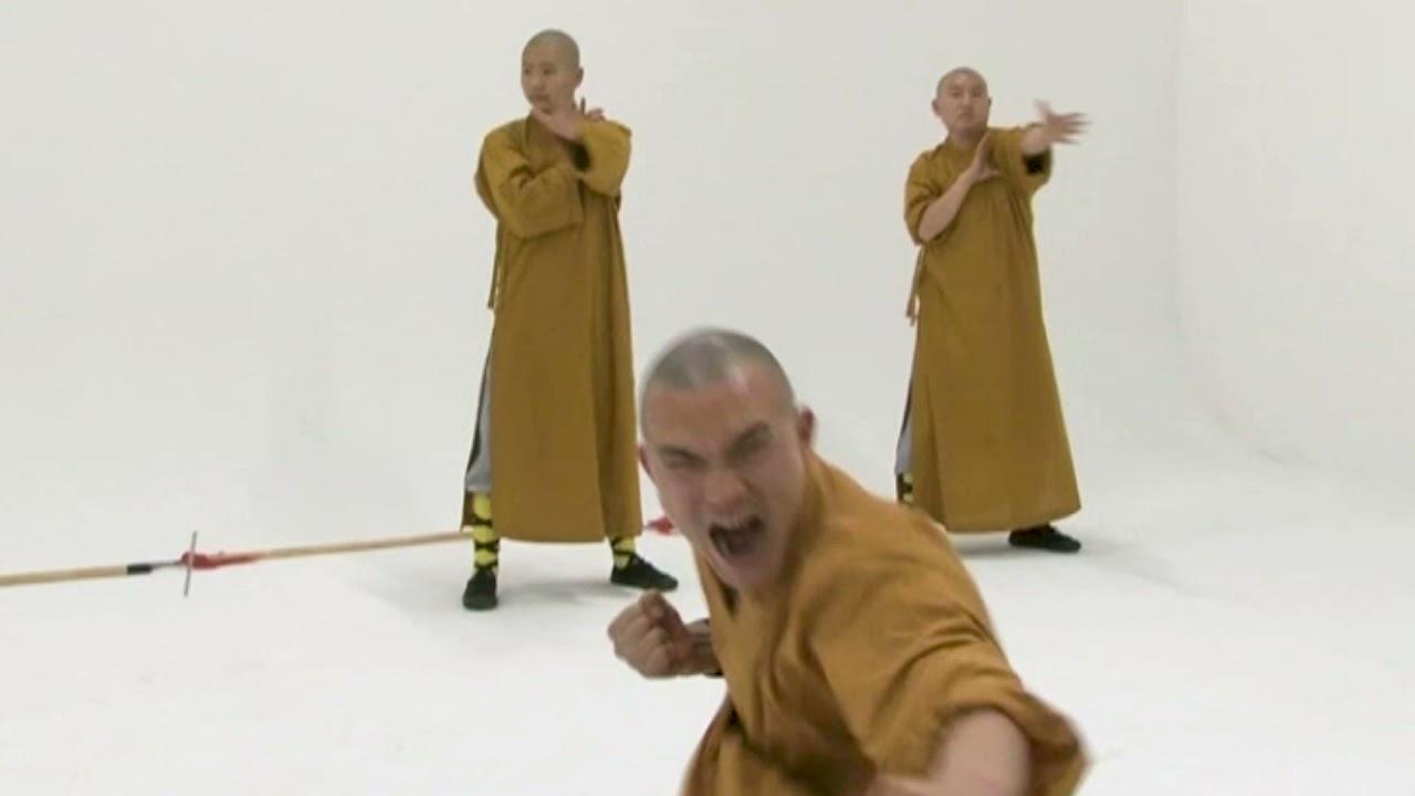 Shaolin Monks show off death-defying stunts