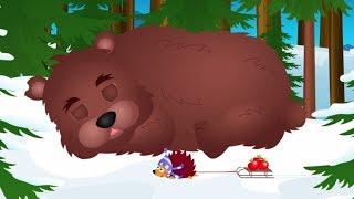 stary niedźwiedź mocno śpi - dziecięce piosenki