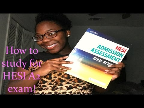 How To Study For Hesi A2 Exam - YT
