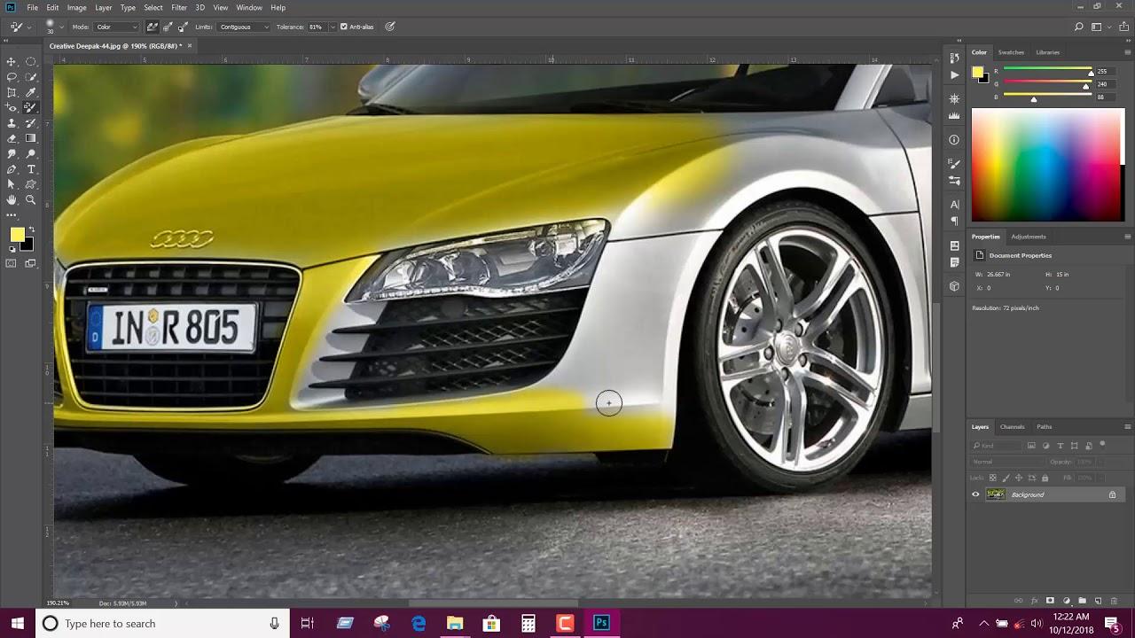 Photoshop cc2018 Tools part 6 ফটোশপ সিসি 2018 পার্ট ৬