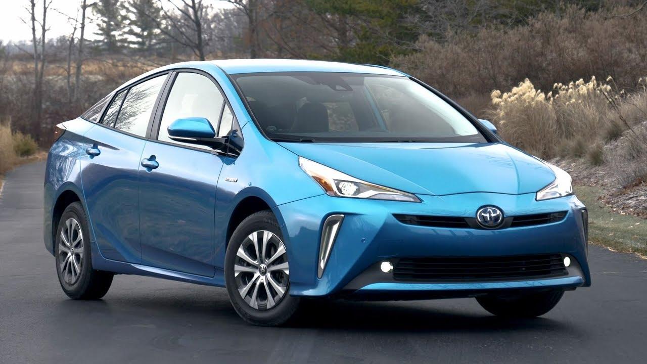 2019 Toyota Prius Xle Awd E Electric Storm Blue Exterior Interior