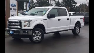 2015 Ford F-150 XLT W/ Backup Camera, AUX, Tow Haul/Sport Review| Island Ford