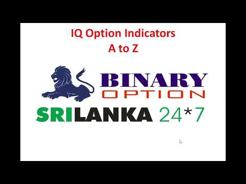 24 Indicators in IQ Option A to Z