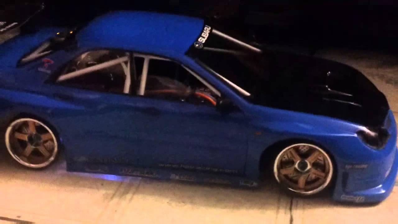 Rc Drift Car Provas Subaru Impreza Build Youtube