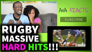 Rugby Massive Hard Hits REACTION || SPORTS REACTIONS
