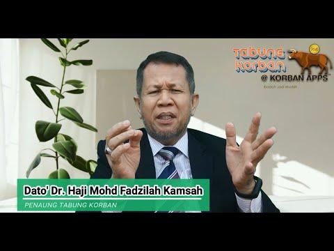 Tabung Korban Oleh Dato' Dr Haji Mohd Fadzilah Kamsah