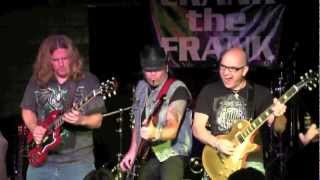 "01 Frank Hannon Band  ""Six String Soldiers"" 3-14-2013 Augusta, GA"