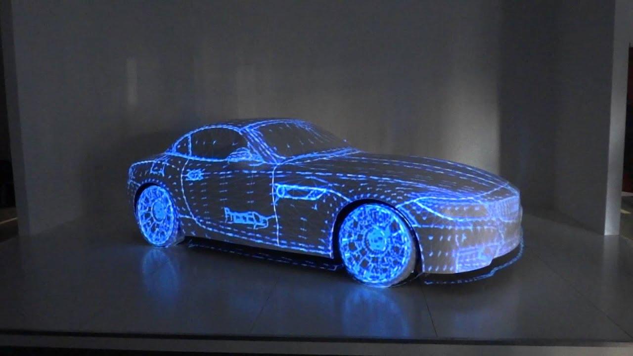 3d Animation Bmw Z4 Animation At Dubai Motor Show Youtube