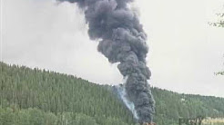PGTV News - CN Train Derailment - Prince George