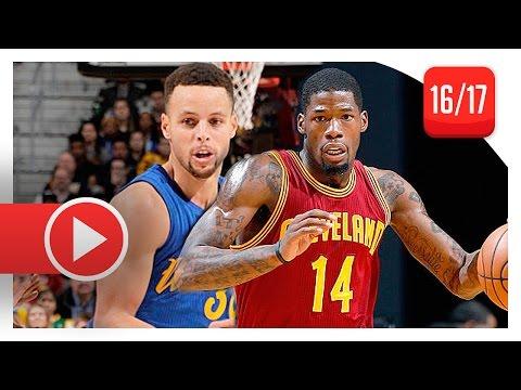 DeAndre Liggins Full Defense Highlights vs Warriors (2016.12.25) - Locking Curry!