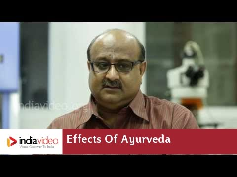 Ayurveda's role in Cancer cure : Dr. Radhakrishna Pillai