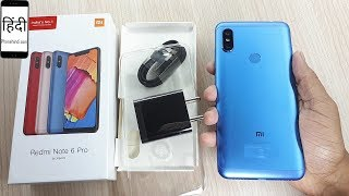Redmi Note 6 Pro Unboxing (4GB/64GB, Blue)