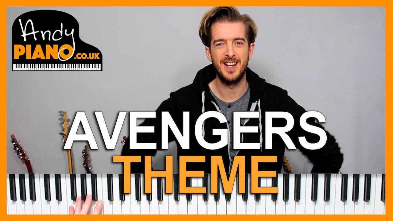 Avengers Theme EASY Piano Lesson | Andy Piano