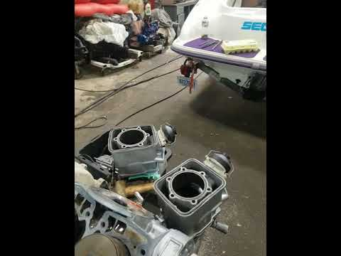 SeaDoo 787 Challenger engine locked up