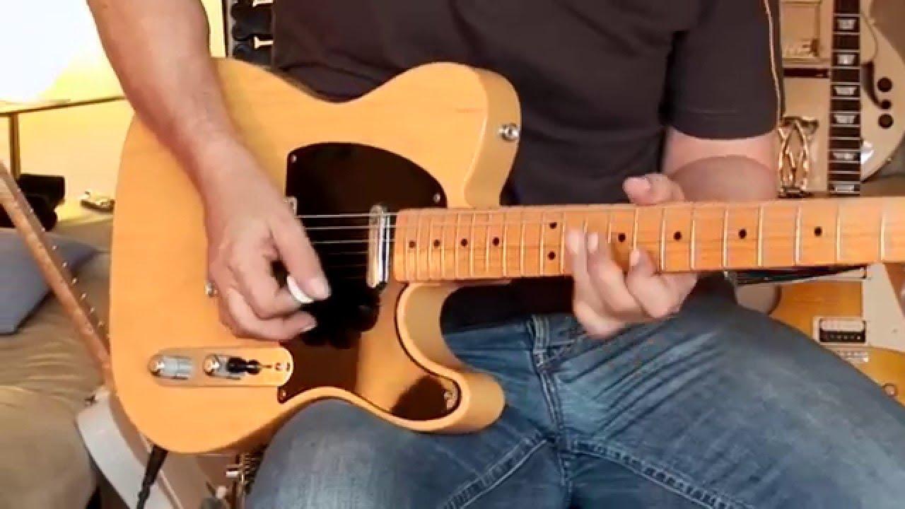 Fender reissue vintage 52 tele excellent