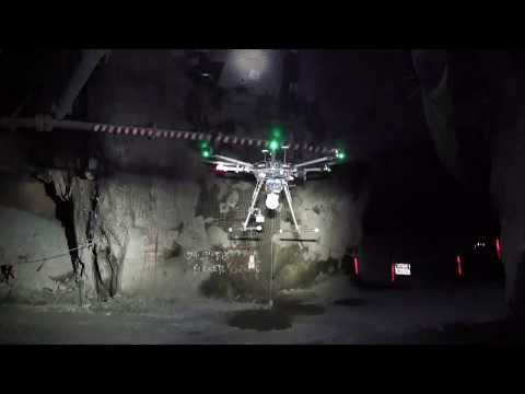 Autonomous underground mine flight