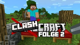 Minecraft + Clash of Clans || feat. MrMobileFanboy || #2 ClashCraft